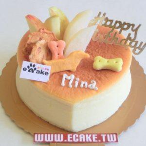 心型乳酪生日蛋糕
